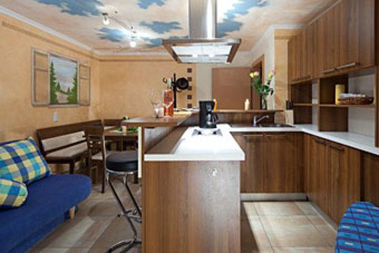 Appartementhaus Charisma: Top 4 Wohnbreich mit Küche