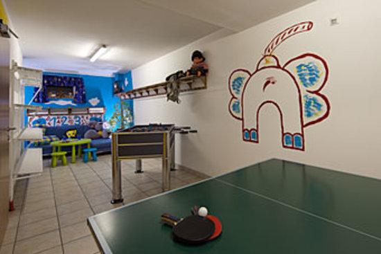 Appartementhaus Charisma: Kinderspielzimmer für Groß als auch Klein