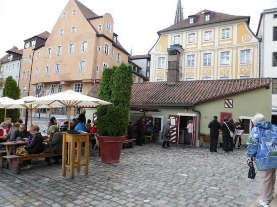 ACHAT Plaza Herzog am Dom: the Old Wurstkuchl tavern
