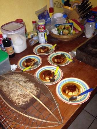 Surf House San Pancho : Coconut bread and other desserts freshly homemade by Bianca