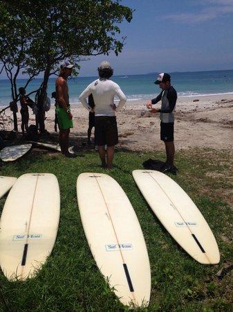 Surf House San Pancho: Luis, our surfin safari teacher