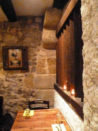 Medieval walls at La Crep Sautiere
