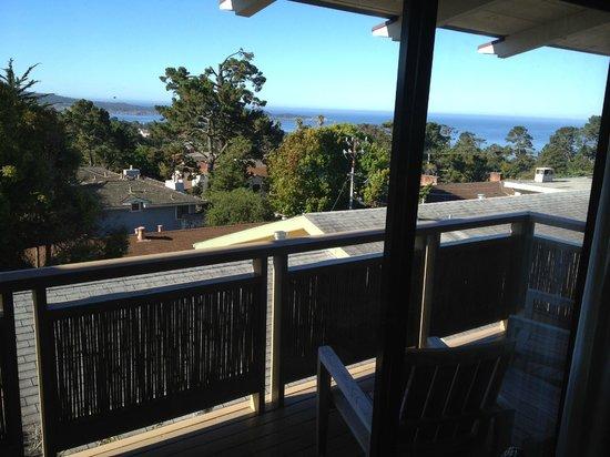 Tradewinds Carmel: View from balcony