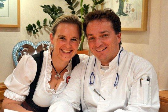 The Rustico Hotel : Anja and Joerg