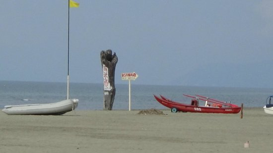Hotel La Pigna: Strand
