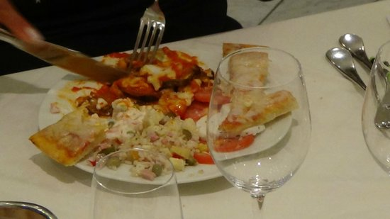 Hotel La Pigna: Abendessen