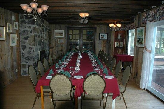 The Bourget Inn & Spa Resort: Gourmet Restaurant at Bourget Inn & Spa