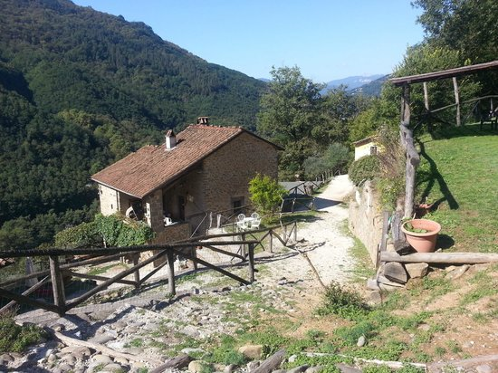 Foto del ristiorante dall 39 esterno picture of agriturismo pian di fiume bagni di lucca - Agriturismo bagni di lucca ...