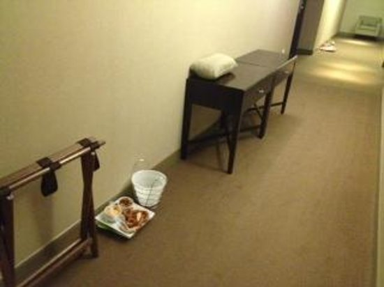 The Westin Baltimore Washington Airport - BWI: Items left in hallway for three days!