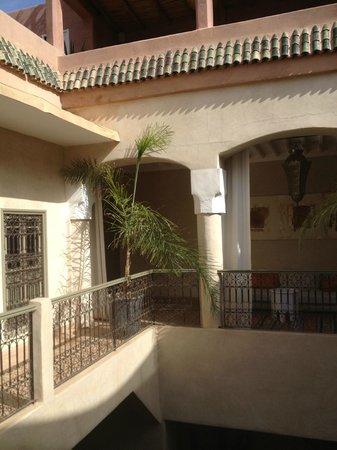 Riad Vendome & Spa Marrakech: Vue de la chambre