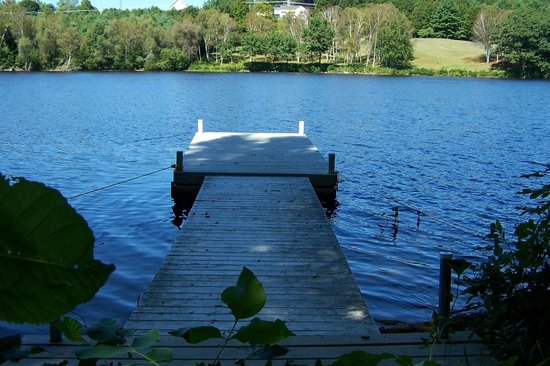 Kyes Motel: Our Dock on Kennebec