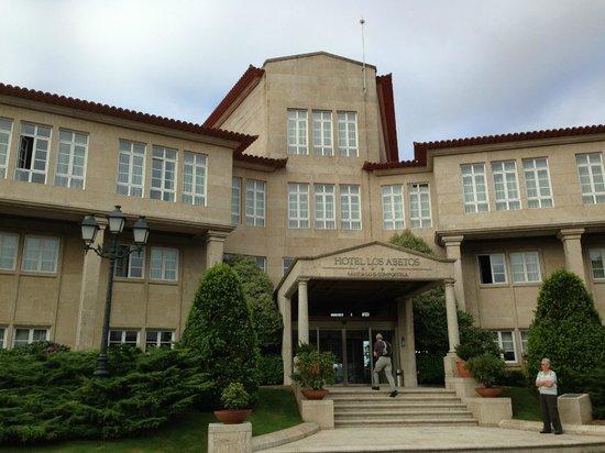 Gran Hotel Los Abetos: Ingresso hotel