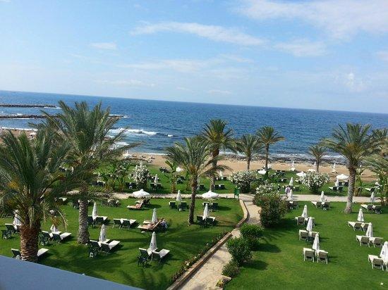 Constantinou Bros Athena Beach Hotel: View From Our Balcony