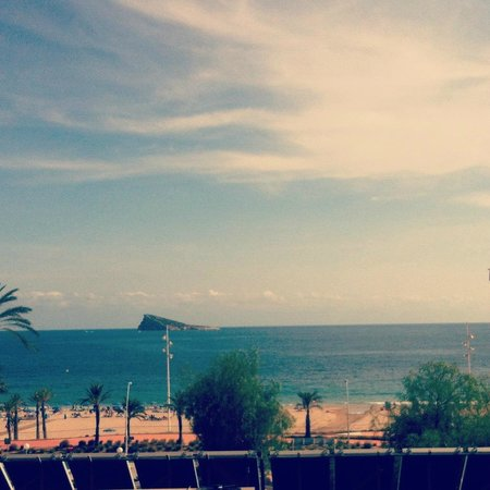 Hotel Poseidon Playa: We were on the first floor, the higher the floor the better the view