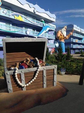Disney's Art of Animation Resort: área Ariel