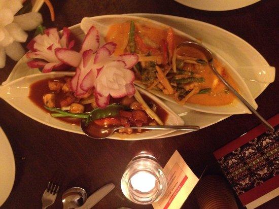 Thai Inside: Main course menu number 1