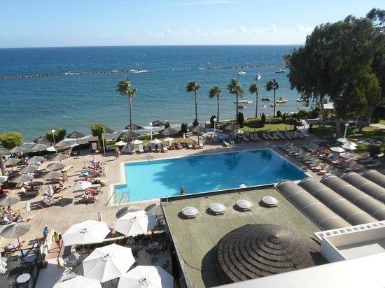 Atlantica Miramare Beach: Amazing view from our balcony