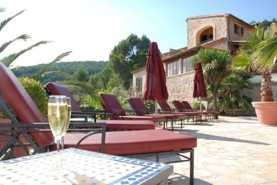 Hotel Restaurante La Posada del Marques: empezar el dia con cava