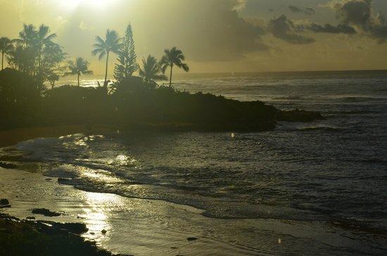 Kapaa Sands: Sunrise