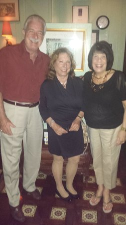 Euphemia Haye Restaurant : Steve, D'Arcy and Penny