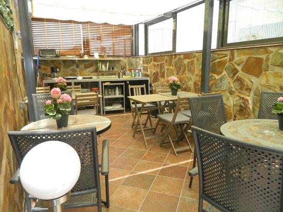 Hostal House: terraza