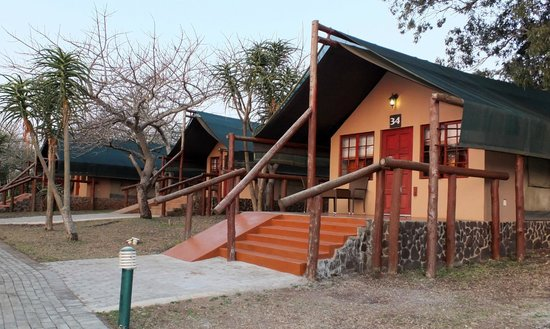 Zulu Nyala Heritage Safari Lodge : Les tentes du lodge