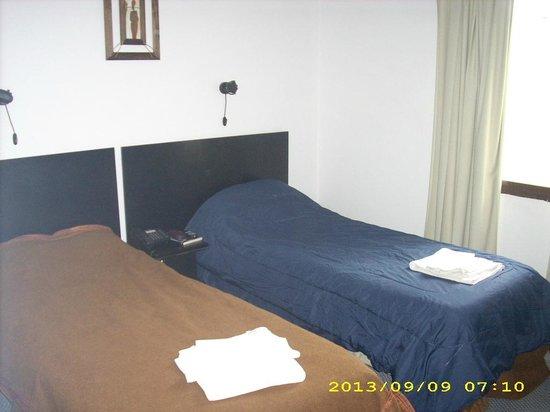 Cantón de Valais: habitacion doble twin