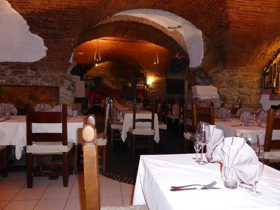 La Bruschetta : cozy atmosphere