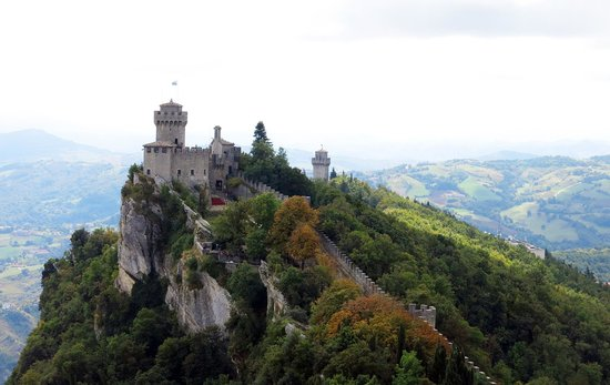 Best Western Hotel Nettunia: Cresta Castle, San Marino