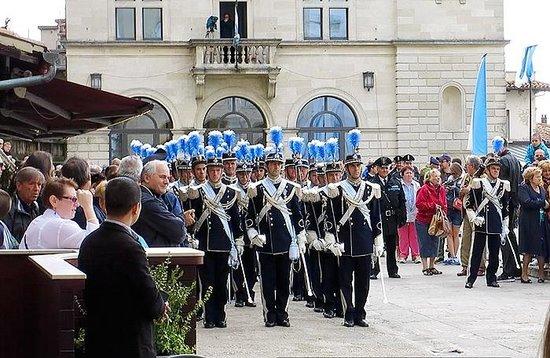 Best Western Hotel Nettunia: Inaugural parade, San Marino