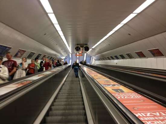 Firstapartments Inn City Center: Underground Metro nearby