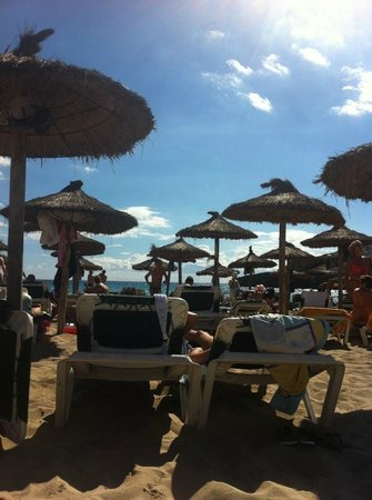 Club Cala Romani : beach