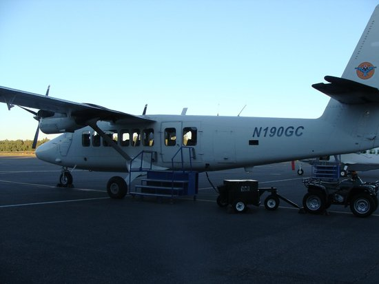 Grand Canyon Airlines - Grand Canyon National Park: Our plane for the flight through the Grand Canyon