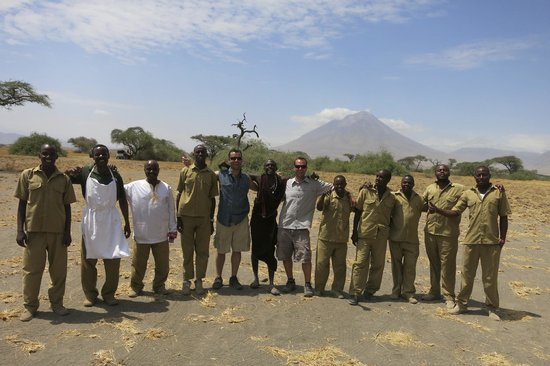 Lake Natron Halisi Camp: the staff