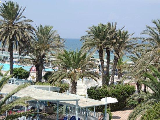 El Mouradi Port El Kantaoui : vue de la chambre