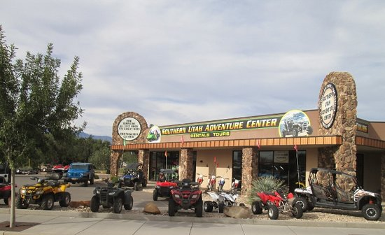 Southern Utah Adventure Center: Ride from our shop to the trails