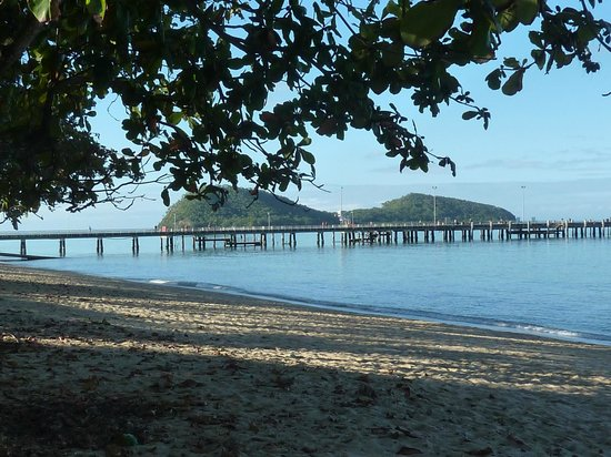 Palm Cove Beach: view to the north