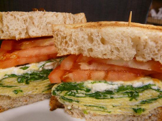Nathan Detroit's Sandwich Pad : create your own breakfast sandwich