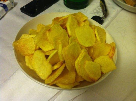 Antica Osteria Friozzu: Patate fritte