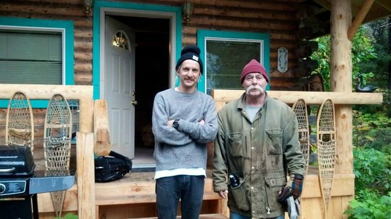 Allens Alaska Adventures: My son Phil & Joe