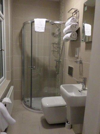 Devonshire Hotel: Ensuite shower room