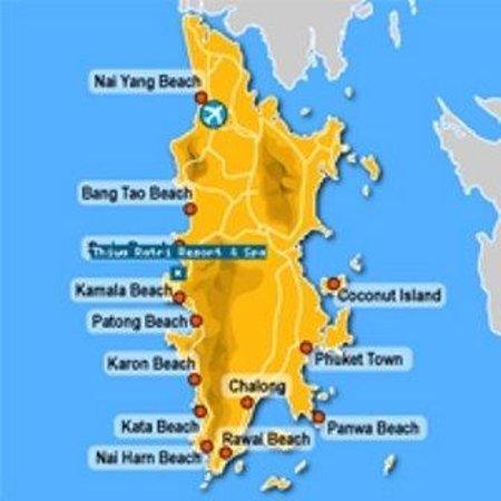 Circle Phuket Resort & Spa: Map
