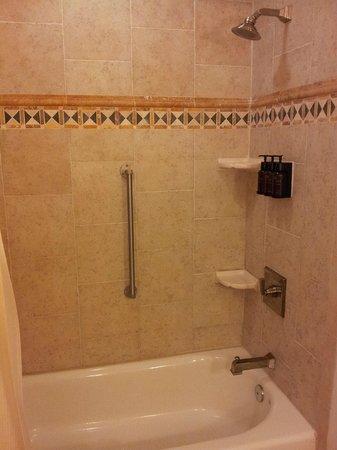 Kingsmill Resort: shower