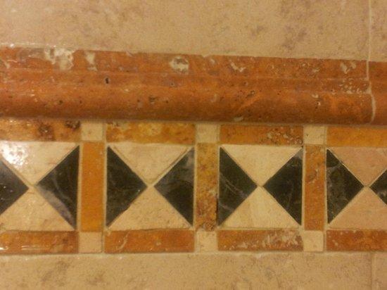 Kingsmill Resort : Nice tile detail in shower