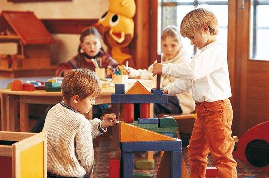 Riffelalp Resort 2222 m: Kindergarten
