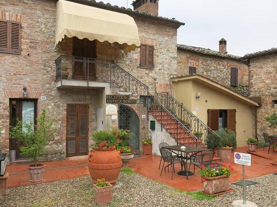 Fullino Nero: the original farmhouse building