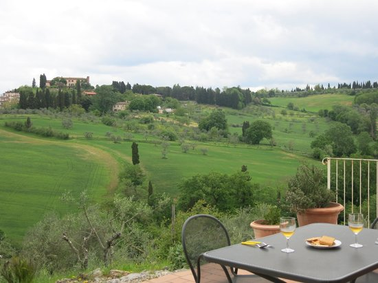 Fullino Nero: amazing views from our terrace