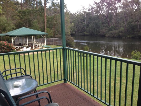 Riverview Tourist Park : View from cabin 1