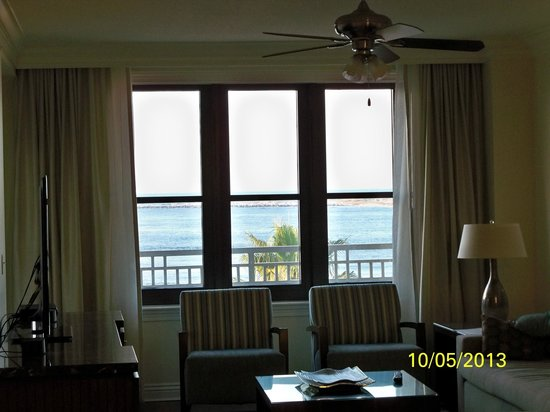 Emerald Grande at HarborWalk Village: View from the living room window