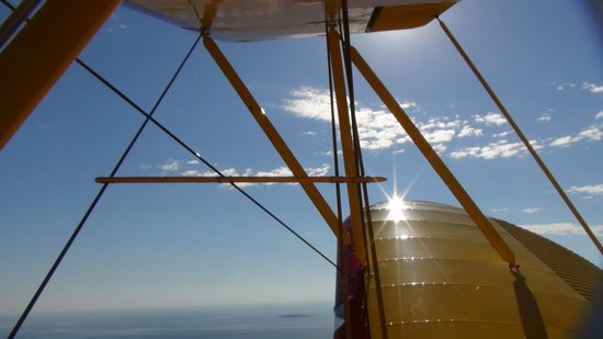 Acadia Air Tours : Bi-plane Photo